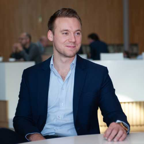 Nick van Nispen, intern IT Blockchain