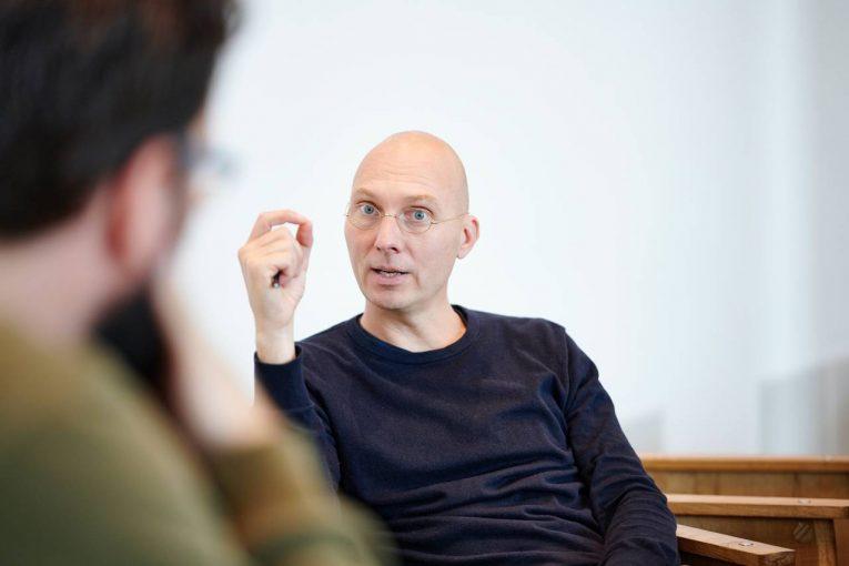 Roland van derVorst in gesprek