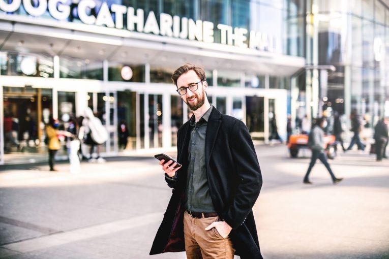 front-end-developer-rabobank Johan van den Tillaart voor Hoog Catherijne